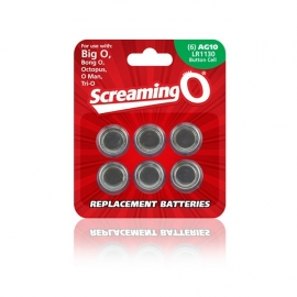 Taille AG (10 Piles) The Screaming O BAT6-110A