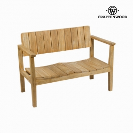 Banc avec Dossier Craftenwood (110 x 60 x 80 cm) - Collection Pure Life