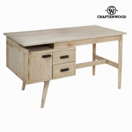 Bureau Bois mindi (140 x 70 x 76 cm) - Collection Pure Life by Craftenwood