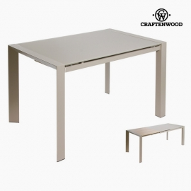 Table extensible grise by Craftenwood