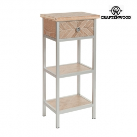 Petite Table d'Appoint Mdf (46 x 33 x 98 cm) by Craftenwood