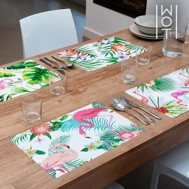 Dessous de Plats Flamenco Tropical Wagon Trend