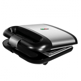 Machine à sandwich Cecotec Rock´nToast 750W Noir Acier inoxydable