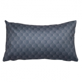 Coussin motegi bleu - Collection Colored Lines by Loom In Bloom