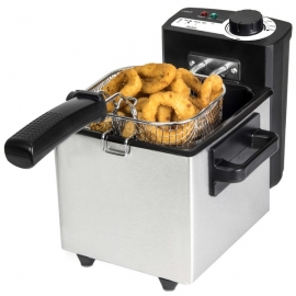 Friteuse Cecotec Cleanfry 1,5 L 1000W Acier inoxydable