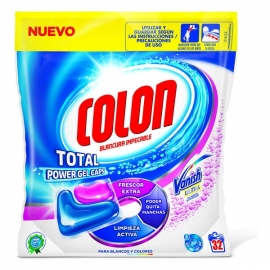 Détergent Pour les Vêtements Colon Total Power Vanish (32 Doses)