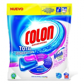 Détergent Pour les Vêtements Colon Total Power Vanish (50 Doses)