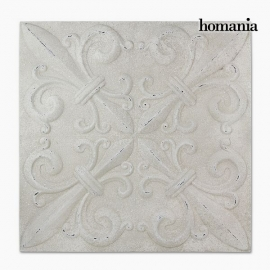 Décoration Suspendue Carré Blanc (94 x 94 x 7 cm) by Homania