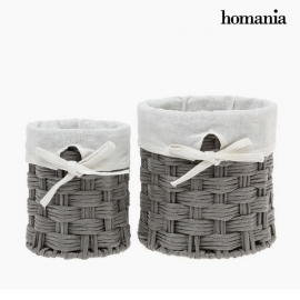 Lot de paniers Homania 2978 (2 pcs) Gris